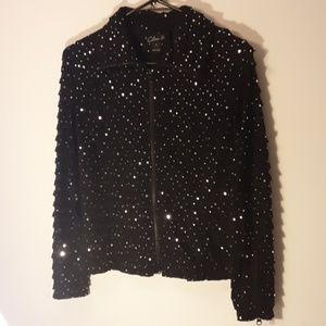 CLARA S..  Dressy sequined  jacket